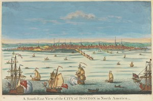 A_South-East_View_of_the_City_of_Boston_in_North_America