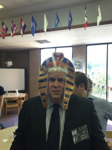 Daniel Handler, a.k.a. Lemony Snicket, got in the spirit of things at the Tweens Read Festival in Houston.