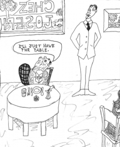 Four cartoons, heavy on animal jokes | Michael Northrop